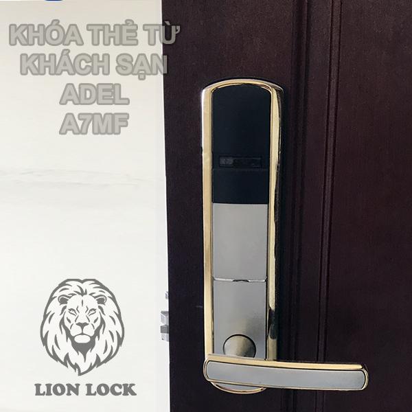 Hình ảnh thực tế khóa khách sạn ADEL A7MF