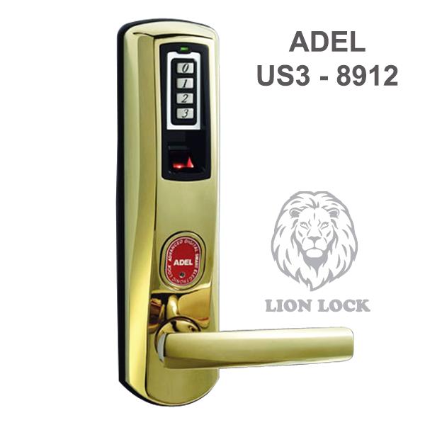 Khóa cửa vân tay ADEL US3 8912
