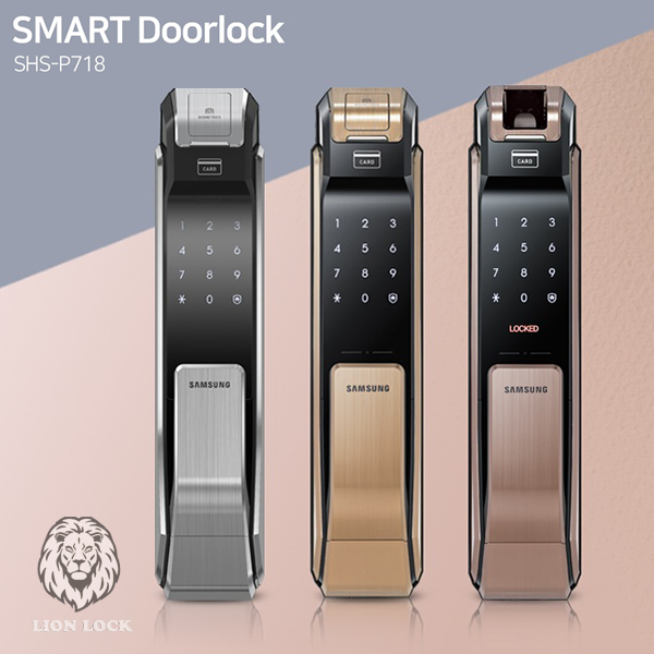 Khóa Cửa Vân Tay Samsung SHP 718