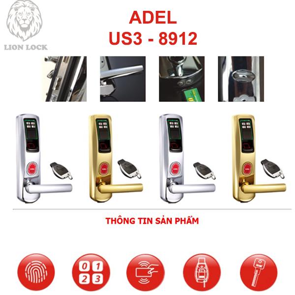 Tính năng khóa ADEL-US3-8912