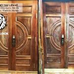 Lắp đặt khóa vân tay cho cửa Biệt Thự