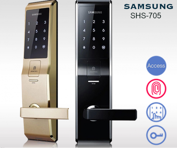 khóa điện tử samsung shs-705