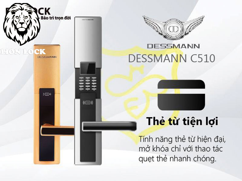 KHÓA THẺ TỪ DESSMANN C510