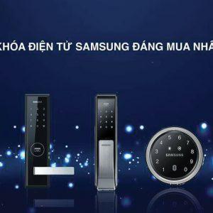 TOP 5 Khóa Cửa Vân Tay Samsung Bán Chạy Nhất