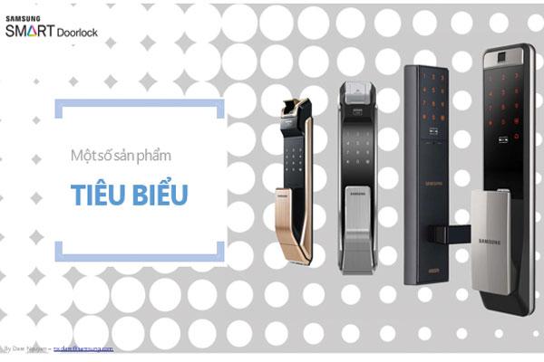 5 Mẫu Khóa Cửa Vân Tay Samsung Bán Chạy Nhất Tại Việt Nam