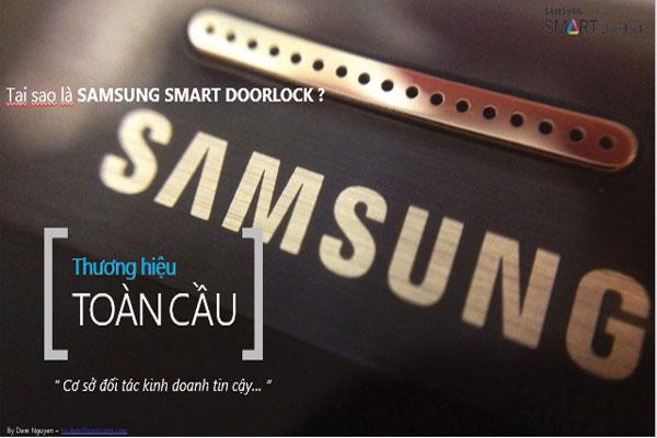 Tại Sao Sử Dụng Khóa Điện Tử Samsung?