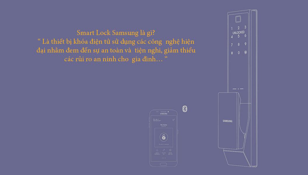 SMART DOOR LOCK Samsung là gì?