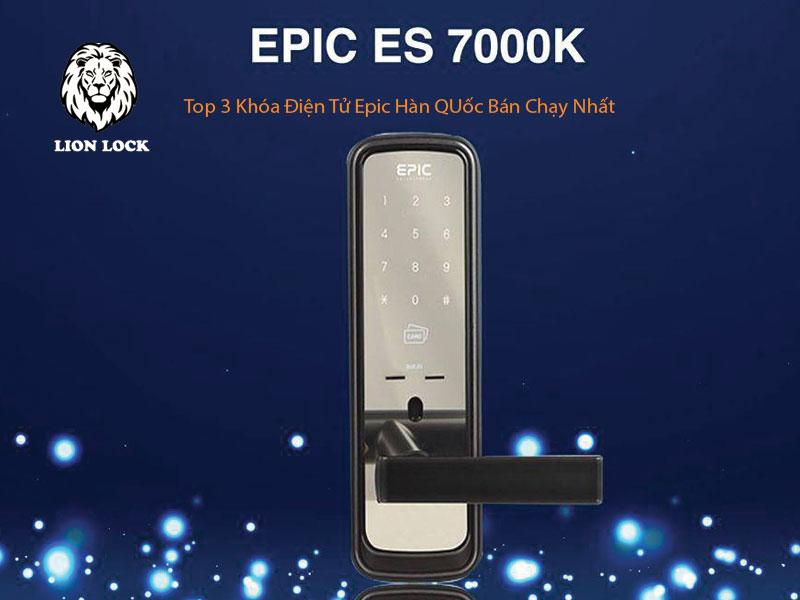 Khóa Điện Tử EPIC ES-7000L top 3 khóa điện tử bán chạy