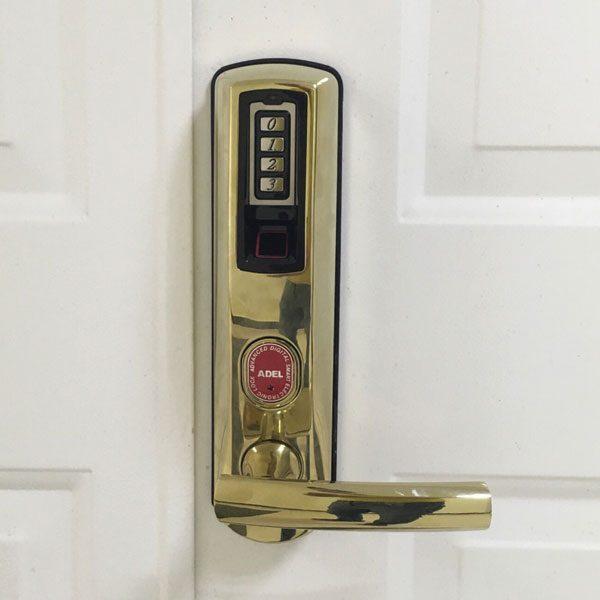 khóa cửa vân tay adel 8909