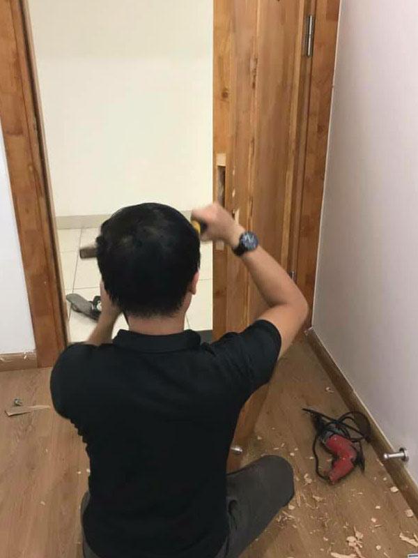 Tiêu chuẩn lắp khóa cửa vân tay