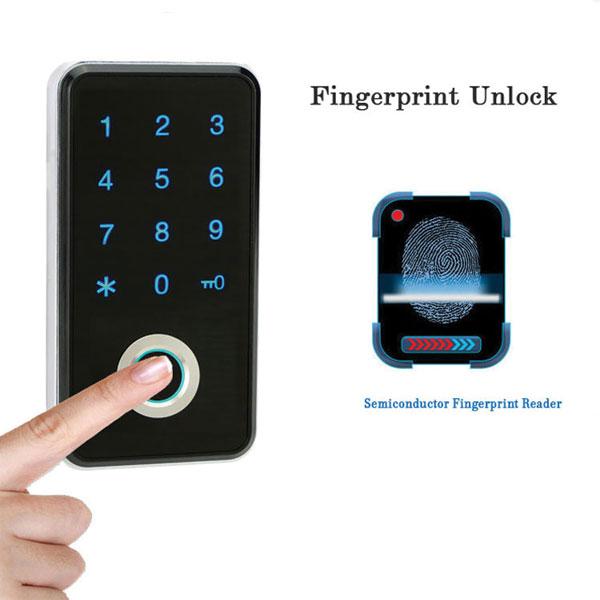 Cơ chế hoạt động khóa tủ đồ vân tay
