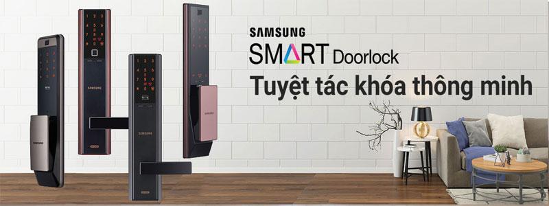 Những ưu điểm khi sử dụng khóa Samsung