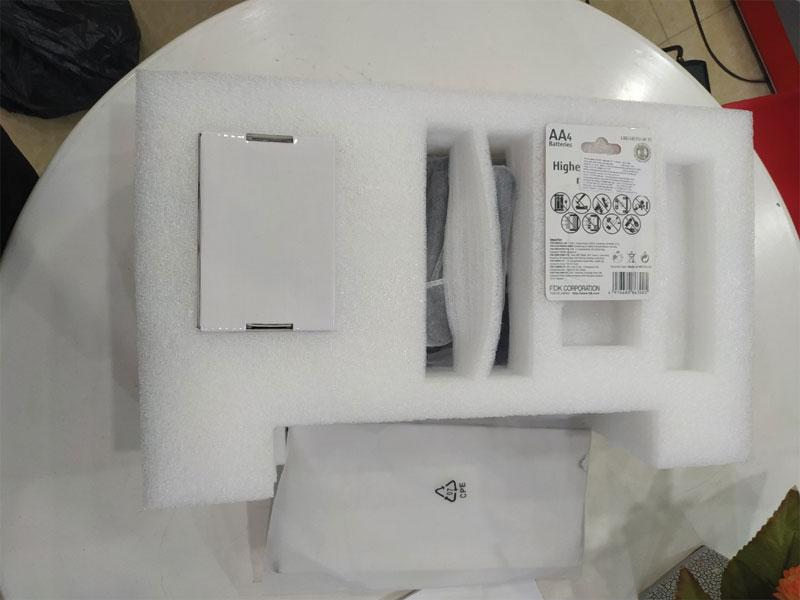 Sản phẩm được đóng gói tiêu chuẩn cẩn thận. Chống sốc bằng xốp định hình