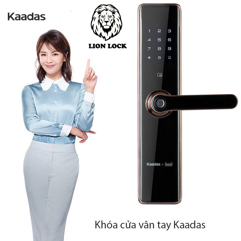 khóa cửa vân tay kaadas
