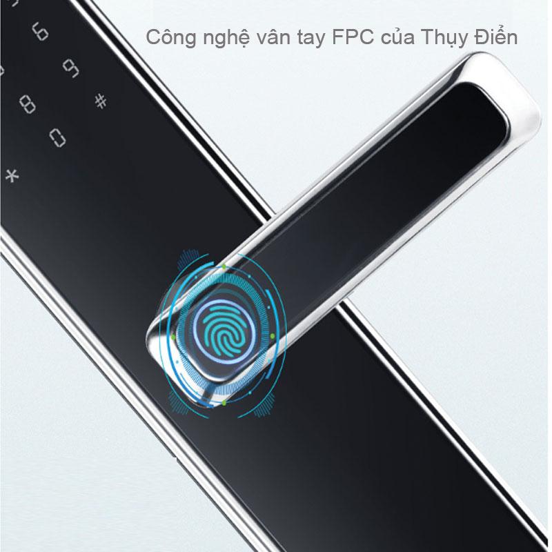 Khóa sử dụng công nghệ vân tay FPC của Thụy Điển