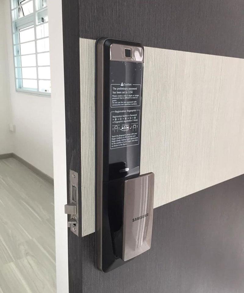 Smart door lock samsung