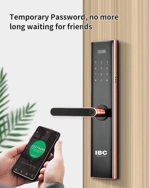Cấp mật khẩu qua App Wish Home