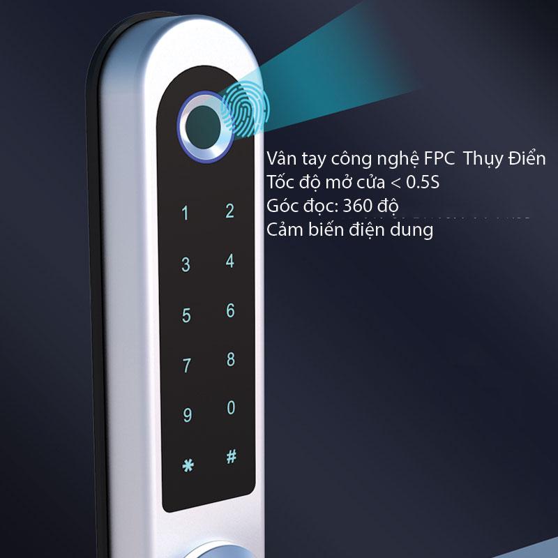 công nghệ mở cửa vân tay FPC