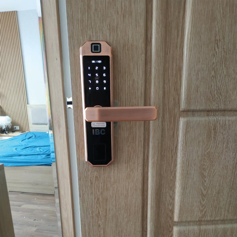 dòng khóa cửa vân tay thông minh