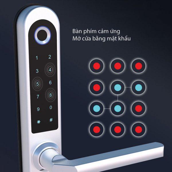 mở cửa bằng mật khẩu