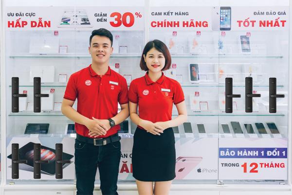 Cửa Hàng Bán Ổ Khóa Vân Tay Tại Hà Nội - TP HCM