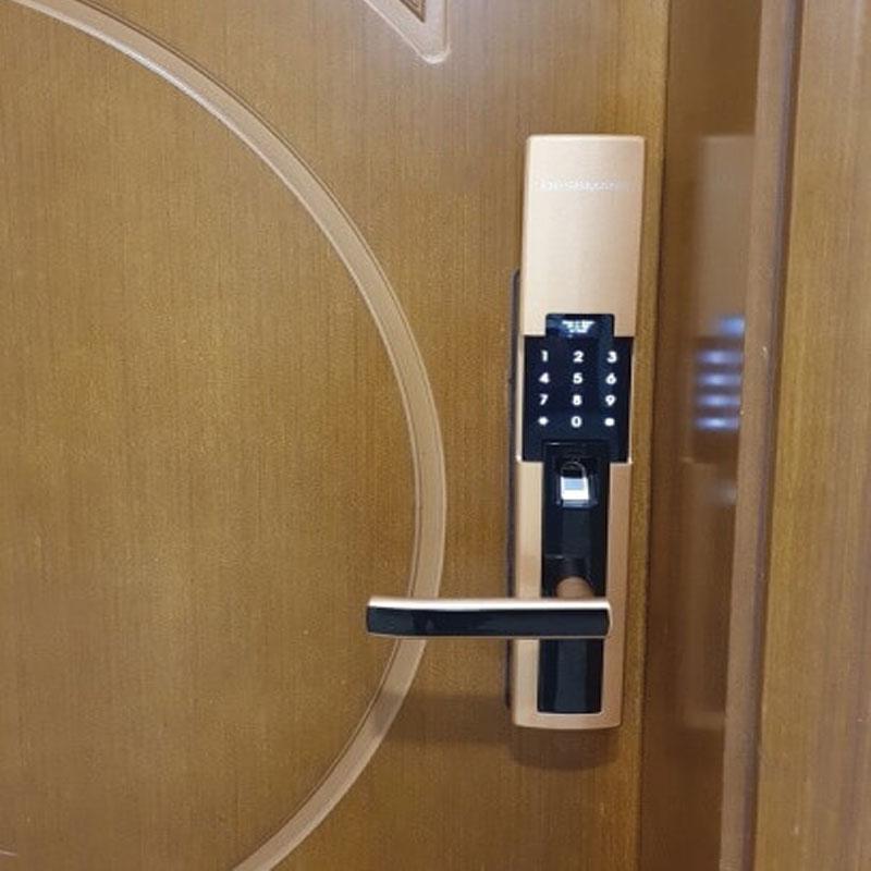ảnh lắp đặt thực tế khóa dessmann S510-II