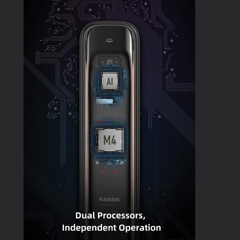 khóa sử dụng thiết kế Chip M4 cao cấp