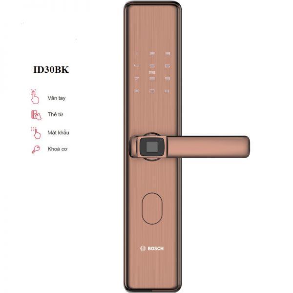 Thông số khóa Khóa Vân Tay Bosch ID30B