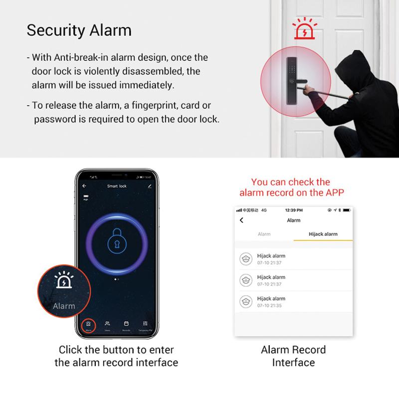 khóa tích hợp báo động báo trộm