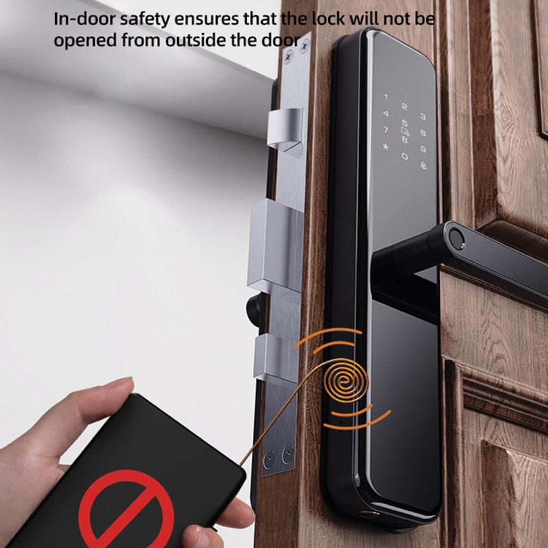 khóa có chế độ thông mình chống black door