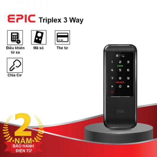 Khóa Thẻ Từ Epic Triplex 3 Way