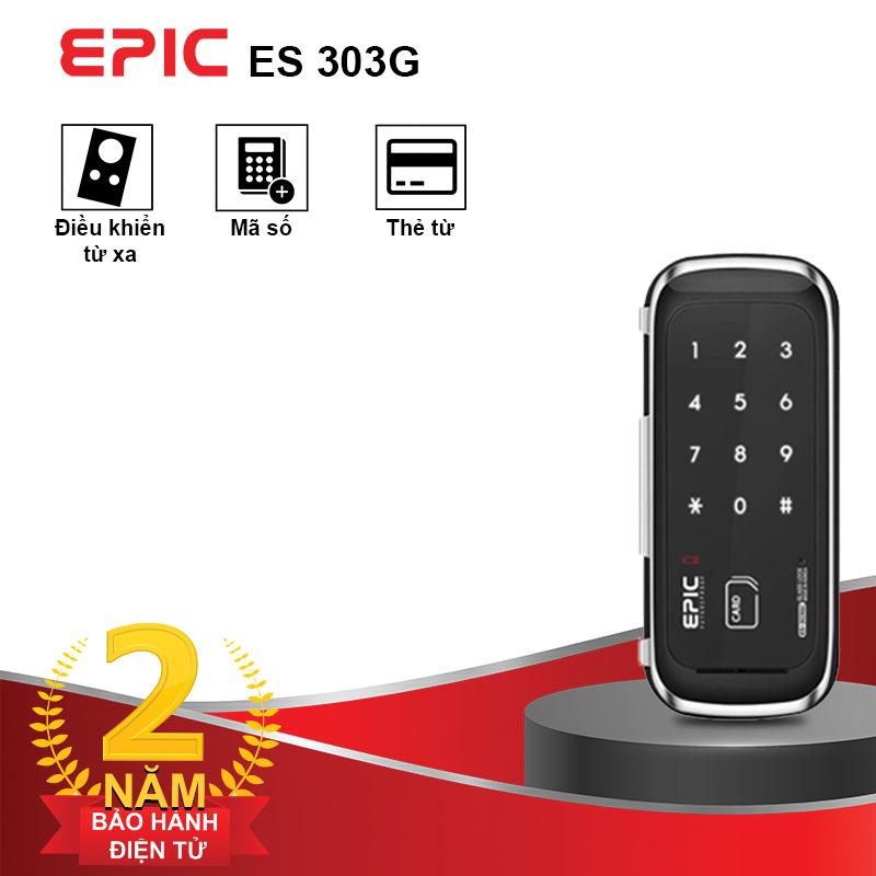 Khóa Thẻ Từ Cửa Kính EPIC ES-303G