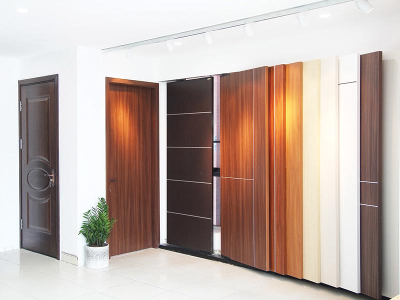 Các mẫu cửa gỗ 1 cánh cho chung cư